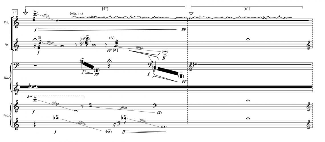 Trace-score-image